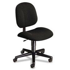 Mid-Back Pivot Swivel Task Chair, Olefin Fabric