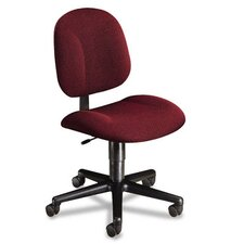 Every-Day Series Swivel-Back Pivot Task Chair, Olefin Fabric, Burgundy