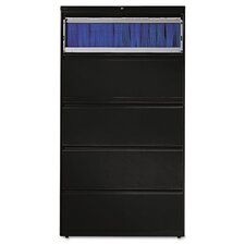 "<strong>HON</strong> 800 Series 36"" W Two-Drawer Lateral File with Locks"