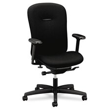 <strong>HON</strong> Mid-Back Swivel / Tilt Office Chair with Adjustable Arms