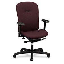 Mid-Back Swivel / Tilt Office Chair with Adjustable Arms