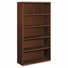 Bookcase, Five Shelves, Cherry