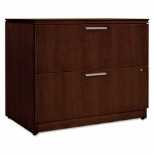Arrive Wood Veneer Two-Drawer Lateral File