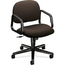 <strong>HON</strong> Solutions - 4000 Series Managerial Mid-Back Pneumatic Office Chair