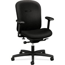 Mirus Series Low-Back Office Chair with Arms