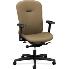 Mirus Series Mid-Back Office Chair with Arms