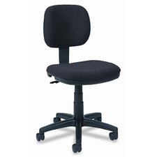 Mid-Back Fabric Swivel Task Chair