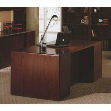 "<strong>HON</strong> 10700 Series 72"" W Double Pedestal Executive Desk"