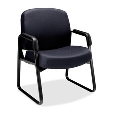 3500 Pyramid Sled Base Guest Arms Chair