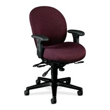 7600 Series High Back Executive Chair with Seat Glide