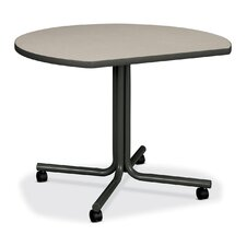 <strong>HON</strong> 61000 Conference End Table w/Casters, Round, 29-1/2h x 42dia, Gray