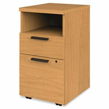 Mobile 2-Drawer Pedestal Cabinet
