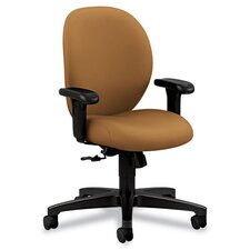 <strong>HON</strong> 24-Hour Task Series Mid-Back Swivel/Tilt Chair