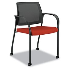 Ignition Series Mesh Back Mobile Stacking Chair
