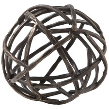 Strap Sphere Sculpture
