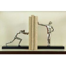 <strong>Global Views</strong> Blockhead Book Ends (Set of 2)