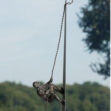 Tabletop Climbing Man Figurine