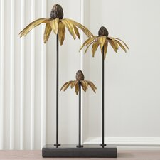 Blackeyed Susan Trio Sculpture