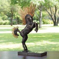 Mohawk Stallion Statue