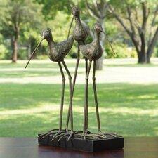 Sandhill Cranes Verdi Statue