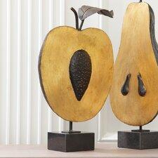 What a Peach Sculpture