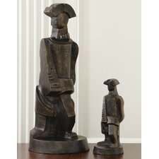 Cubist Soldier Statue