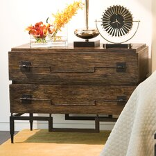 2 Drawer Wide Chest