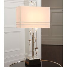 "Tree 37.5"" H Table Lamp with Rectangle Shade"