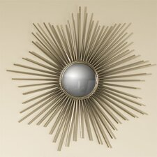 "<strong>Global Views</strong> 24"" H x 24"" W Mini Sunburst Mirror"
