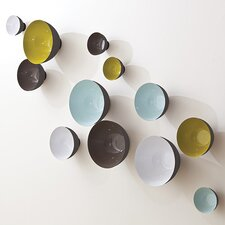 3 Piece Flying Bowls Wall Décor