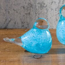 Baby Blue Bird Decorative Accent