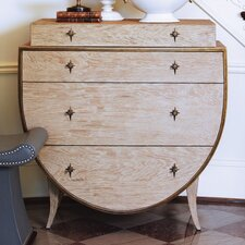 <strong>Global Views</strong> Klismos 4 Drawer Chest