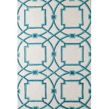 Arabesque Aqua Area Rug
