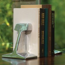 Rail Road Track Book Ends (Set of 2)