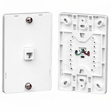 Phone Jack Wall Mount Wall Plate
