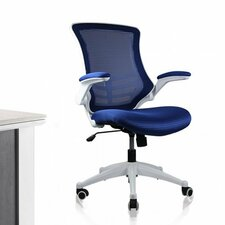 <strong>Manhattan Comfort</strong> High-Back Mesh Office Chair with Wheels