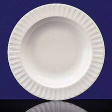 "Night & Day 11"" Fluted Pasta Plate"