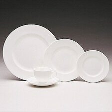 <strong>Wedgwood</strong> Wedgwood White 5 Piece Place Setting