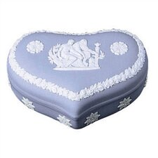 Pale Blue Jasper® Heart Box