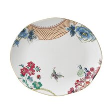 "Butterfly Bloom 11.25"" Circle Platter"
