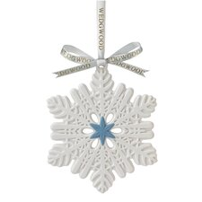 Figural Snowflake Ornament