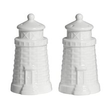 Nantucket Basket Salt and Pepper Set