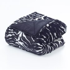 Tiger Polyester Throw Blanket