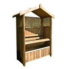 Dorset Wooden Arbour with Storage Box