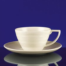 Casual Cream Breakfast Saucer