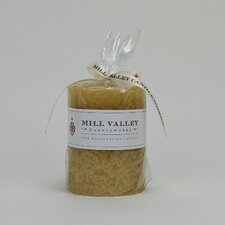 Polynesian Vanilla Scented Pillar Candle