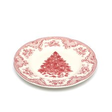 Old Britain Castles Pink Christmas Dinner Plate (Set of 4)