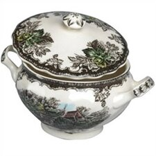 <strong>Johnson Brothers</strong> Friendly Village Sugar Bowl with Lid