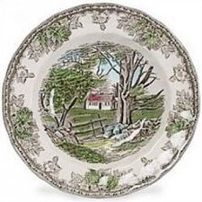 <strong>Johnson Brothers</strong> Friendly Village Rim Soup Bowl