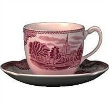 Old Britain Castles Pink Tea Saucer